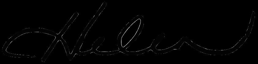 Helen's signature