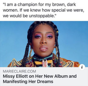 Before you share that Missy Elliott quote (or any others for that matter)…