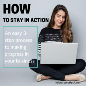 How to stay in action
